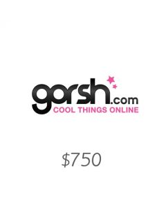 Gorsh - Voucher $750