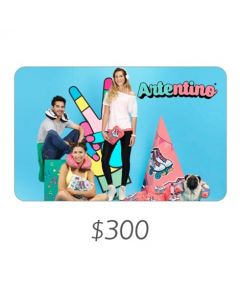 Artentino - Gift Card Virtual $300