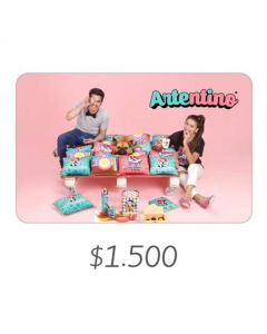 Artentino - Gift Card Virtual $1500
