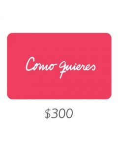 Como quieres - Gift Card Virtual $300