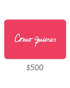Como quieres - Gift Card Virtual $500