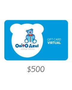 Osito Azul - Gift Card Virtual $500