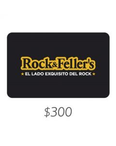 Rock and Fellers - Gift Card Virtual $300