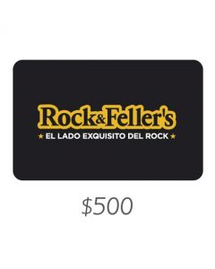 Rock and Fellers - Gift Card Virtual $500